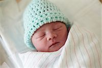 Newborn baby boy, asleep Stock Photo - Premium Royalty-Freenull, Code: 614-06043991