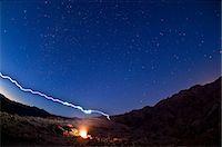 Desert campfire in Death Valley National Park, California, USA Stock Photo - Premium Royalty-Freenull, Code: 614-06044079