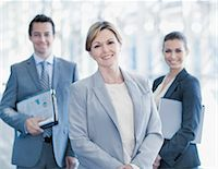 Portrait of smiling business people Stock Photo - Premium Royalty-Freenull, Code: 635-06045581