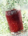 Elderflower and strawberry jam Stock Photo - Premium Rights-Managed, Artist: Photocuisine, Code: 825-06046183