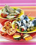 Variety of tapas Stock Photo - Premium Rights-Managed, Artist: Photocuisine, Code: 825-06046589