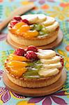 Fruit tartlets Stock Photo - Premium Rights-Managed, Artist: Photocuisine, Code: 825-06046987