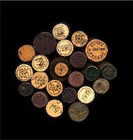 Composition with wine bottle corks Stock Photo - Premium Rights-Managednull, Code: 825-06047773