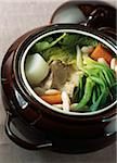 Pork hotpot with miso sauce Stock Photo - Premium Rights-Managed, Artist: Photocuisine, Code: 825-06048023