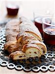 Stollen and hot spicy red wine Stock Photo - Premium Rights-Managed, Artist: Photocuisine, Code: 825-06049034