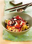 Fruit Nituke with prunes,pears,apples,raisins and almonds Stock Photo - Premium Rights-Managed, Artist: Photocuisine, Code: 825-06049438