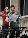 Italy, Venice, Couple with map, sightseeing in city Stock Photo - Premium Royalty-Free, Artist: Cultura RM, Code: 640-06049861