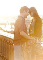 Italy, Florence, Romantic couple relaxing in city Stock Photo - Premium Royalty-Freenull, Code: 640-06049912
