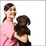 veterinary technician Stock Photo - Premium Royalty-Free, Artist: ableimages, Code: 640-06051022