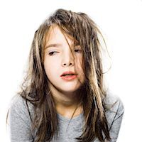 girl waking up in the morning Stock Photo - Premium Royalty-Freenull, Code: 640-06051690