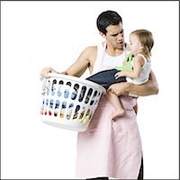 father and young daughter Stock Photo - Premium Royalty-Freenull, Code: 640-06051937