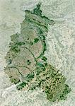 Champagne-Ardenne Region, France, True Colour Satellite Image With Mask. Champagne-Ardenne region, France, true colour satellite image with mask. This image was compiled from data acquired by LANDSAT 5 & 7 satellites. Stock Photo - Premium Rights-Managed, Artist: Universal Images Group, Code: 872-06052803