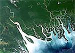 Satellite View of Hawooi And Kikori Deltas, Papua New Guinea Stock Photo - Premium Rights-Managed, Artist: Universal Images Group, Code: 872-06052983