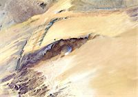 Satellite View of Richat Structure, Mauritania Stock Photo - Premium Rights-Managednull, Code: 872-06053045