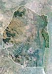 Swaziland, Africa, True Colour Satellite Image With Border And Mask. Satellite view of Zwaziland (with border and mask). This image was compiled from data acquired by LANDSAT 5 & 7 satellites. Stock Photo - Premium Rights-Managed, Artist: Universal Images Group, Code: 872-06053397