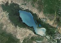 Tonle Sap Lake, Cambodia, True Colour Satellite Image. True colour satellite image of Tonlé Sap Lake and its floodplain, in Cambodia. Composite image using LANDSAT 7 data. Stock Photo - Premium Rights-Managednull, Code: 872-06053889