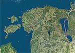 Estonia, True Colour Satellite Image With Border Stock Photo - Premium Rights-Managed, Artist: Universal Images Group, Code: 872-06054319
