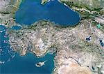 Turkey, True Colour Satellite Image With Border Stock Photo - Premium Rights-Managed, Artist: Universal Images Group, Code: 872-06054843