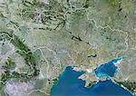 Ukraine, True Colour Satellite Image With Border Stock Photo - Premium Rights-Managed, Artist: Universal Images Group, Code: 872-06054855