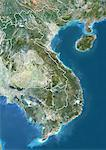 Vietnam, Cambodia and Laos, True Colour Satellite Image With Border Stock Photo - Premium Rights-Managed, Artist: Universal Images Group, Code: 872-06054887