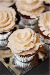 Cupcakes with Icing Roses Stock Photo - Premium Rights-Managed, Artist: Ikonica, Code: 700-06059685