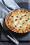 Ham and Cheese Quiche Stock Photo - Premium Royalty-Free, Artist: Jodi Pudge, Code: 600-06059791
