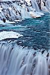 Gullfoss Waterfall in Winter, Hvita River, Iceland Stock Photo - Premium Rights-Managed, Artist: JW, Code: 700-06059818