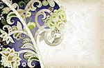 Illustration of abstract floral background in asia style. Stock Photo - Royalty-Free, Artist: billyphoto2008                , Code: 400-06061498