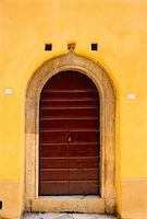 Close-up Image of Wooden Ancient Italian Door Stock Photo - Royalty-Freenull, Code: 400-06065362