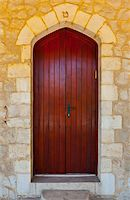 Close-up Image of  Wooden Ancient Israel Door Stock Photo - Royalty-Freenull, Code: 400-06065386