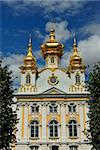 Church of the big Peterhof palace Stock Photo - Royalty-Free, Artist: mahout                        , Code: 400-06065908
