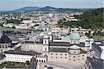 View of Salzburg from above Stock Photo - Royalty-Free, Artist: thatzim                       , Code: 400-06068807