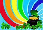 Greeting Cards St Patrick Day vector illustration Stock Photo - Royalty-Free, Artist: rodakm                        , Code: 400-06069134