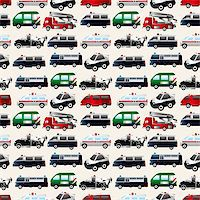 different types car seamless pattern Stock Photo - Royalty-Freenull, Code: 400-06070930