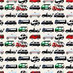 different types car seamless pattern Stock Photo - Royalty-Free, Artist: notkoo2008                    , Code: 400-06070930