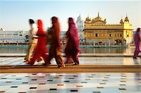 punjabi - Group of Sikh pilgrims walking by the holy pool,Golden Temple,Amritsar,Punjab state,India,Asia Stock Photo - Royalty-Freenull, Code: 400-06071678