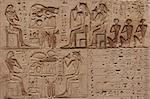 Close up image of an egyptian hieroglyphics carved in the stone Stock Photo - Royalty-Free, Artist: javimartin                    , Code: 400-06074108
