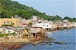fishing village of Lei Yue Mun in Hong Kong Stock Photo - Royalty-Free, Artist: leungchopan                   , Code: 400-06074413