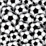 Vector seamless soccer texture. Football wallpaper. Sport background. Stock Photo - Royalty-Free, Artist: svetap                        , Code: 400-06074475