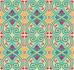 arabesque seamless pattern background Stock Photo - Royalty-Free, Artist: matteobragaglio               , Code: 400-06076530