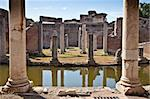 Roman columns in Villa Adriana, Tivoli, Italy Stock Photo - Royalty-Free, Artist: Perseomedusa                  , Code: 400-06076683
