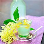 elderflower juice Stock Photo - Royalty-Free, Artist: jordache                      , Code: 400-06076888