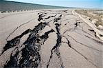 cracked road after earthquake Stock Photo - Royalty-Free, Artist: tomwang                       , Code: 400-06078492