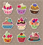 cake stickers Stock Photo - Royalty-Free, Artist: notkoo2008                    , Code: 400-06080777