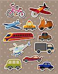 Transport stickers Stock Photo - Royalty-Free, Artist: notkoo2008                    , Code: 400-06080778