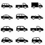 Cars and trucks in black Stock Photo - Royalty-Free, Artist: soleilc                       , Code: 400-06081204