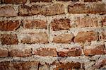 toned red brick wall grunge background or texture Stock Photo - Royalty-Free, Artist: artush                        , Code: 400-06081790