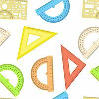 Seamless wallpaper the ruler and protractor line of the triangle vector background Stock Photo - Royalty-Freenull, Code: 400-06082128