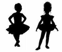 Small ballerinas Stock Photo - Royalty-Freenull, Code: 400-06082563