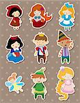 story people stickers Stock Photo - Royalty-Free, Artist: notkoo2008                    , Code: 400-06084197